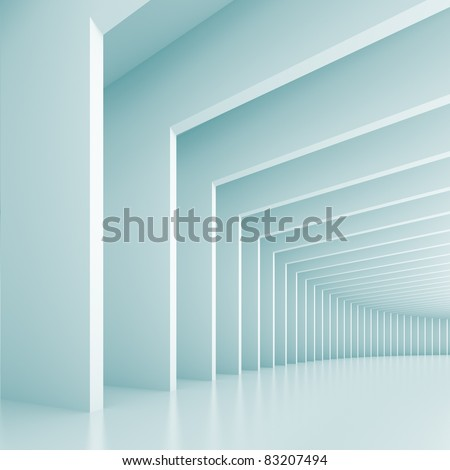 Abstract Architecture Background - stock photo