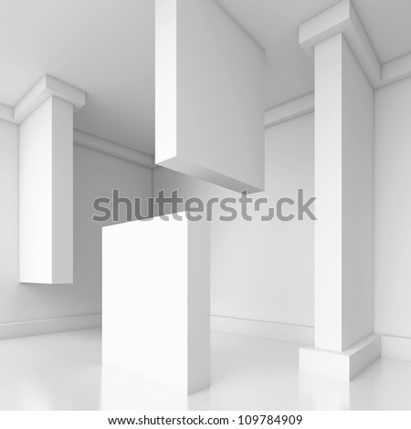 Abstract Architecture Design - stock photo