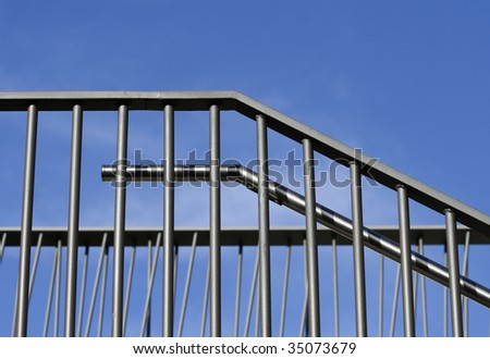 Abstract Architecture Detail - stock photo