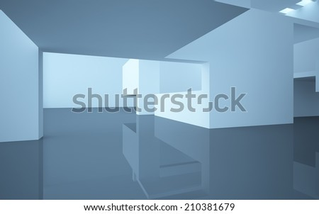 Abstract Architecture . interior