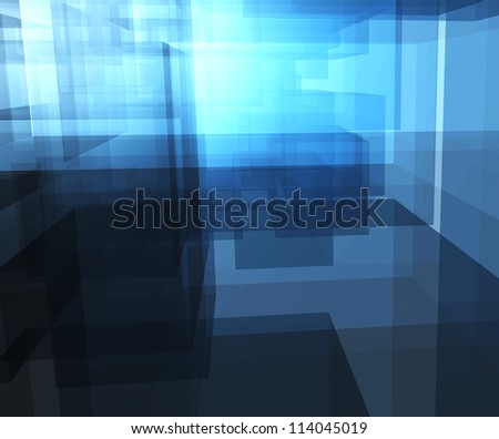 abstract architecture project. - stock photo