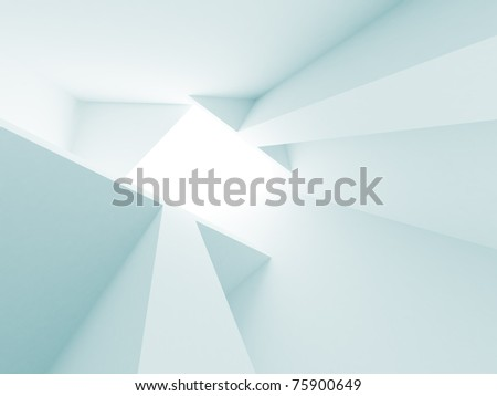 Abstract Architecture Wallpaper - stock photo