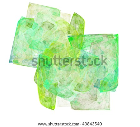 Abstract art backdrop  (wallpaper) on white background. - stock photo
