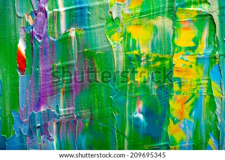 Abstract art background. Hand-painted background. SELF MADE