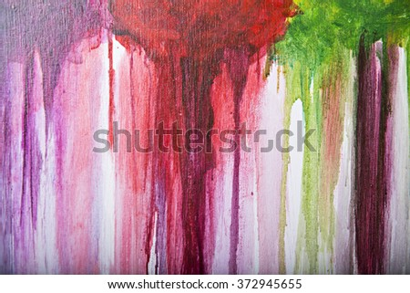 Abstract art background. Painting on canvas. Multicolor texture.  - stock photo