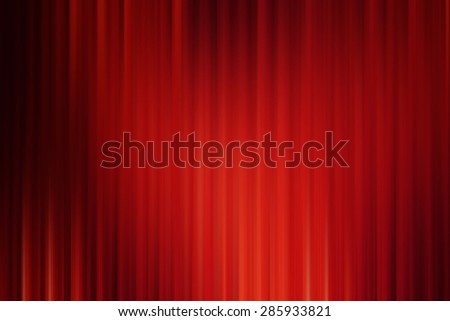 Abstract art background ,red black drape cinema motion style - stock photo