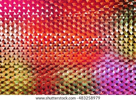 Abstract art classic luxury and elegant style pattern background in popular modern geometric design trend 2016 for print on card paper fabric poster carpet and book cover, Raster type in colorful tone
