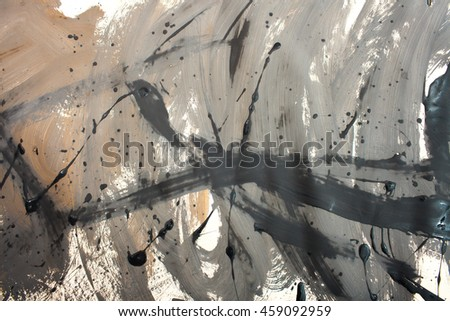 Abstract art creative background. Hand painted background.