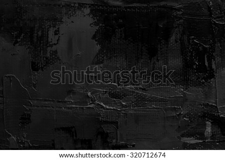 black abstract art