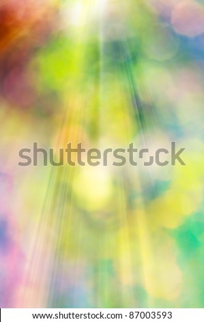 Abstract art natural background made with unfocused lens. - stock photo