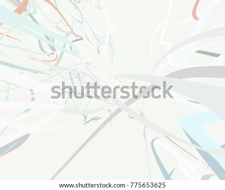 Abstract art texture. Colorful texture. Modern artwork. Strokes of colors. Curved Lines. Digital brushstrokes. Modern art. Contemporary art.