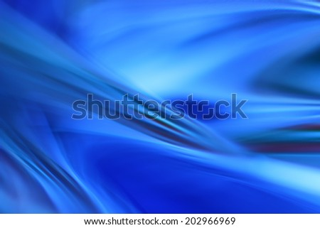 Abstract artistic background, blue rays of light - stock photo