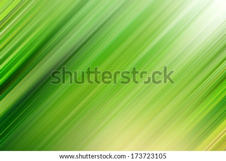 Abstract artistic illustration background with vibrant light green cover of bog and mystery ecosystem, natural bright spring soft colors, futuristic tranquility texture in motion blur shift tilt lines - stock photo