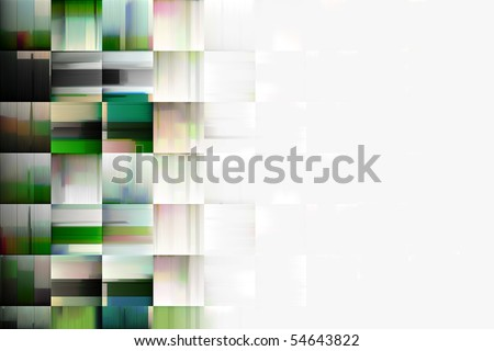 abstract artistic style background design - stock photo