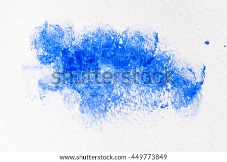 Abstract artistic watercolor splash - stock photo
