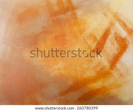 Abstract Artwork on Canvas - stock photo