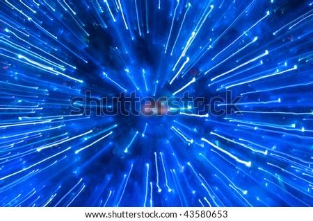 Abstract Atom - stock photo