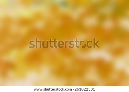 Abstract Autumn Background Blur - stock photo