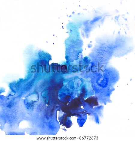 """abstract  background. Album   """"Abstract watercolor hand painted background"""". """"Winter backgrounds"""". - stock photo"""