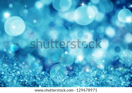 Abstract background, beautiful shiny  lights, glowing magic bokeh - stock photo