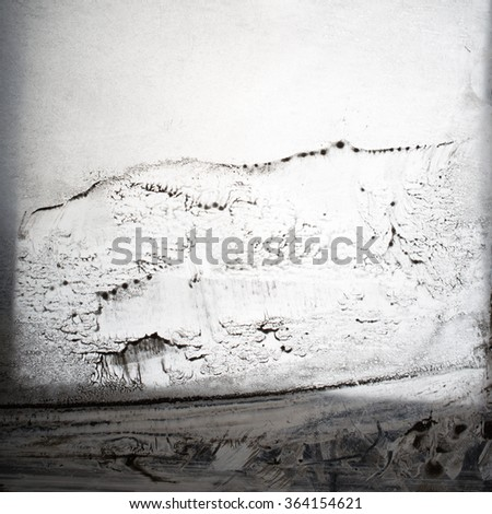 Abstract background - black-white stains - stock photo