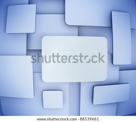 abstract background - blank banners - stock photo