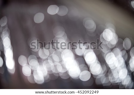 abstract background blue bokeh circles. - stock photo