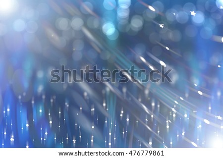 abstract background blue bokeh circles. Beautiful background with particles. elegant illustration