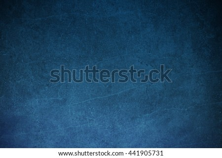 Abstract background - blue color with grunge texture - stock photo