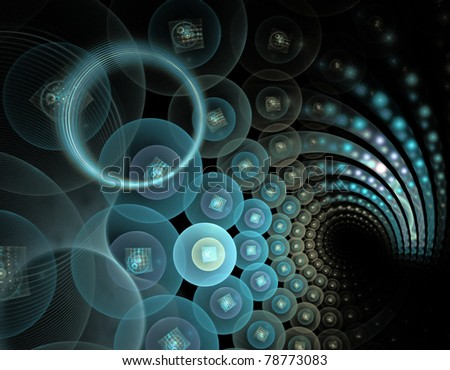 abstract background. blue palette. - stock photo