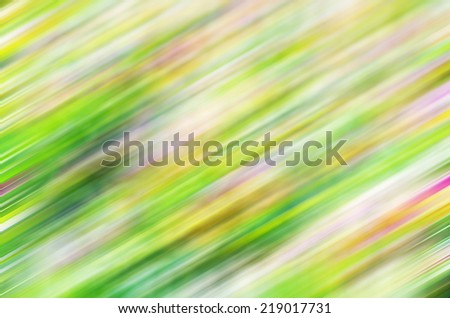 Abstract background blur flower