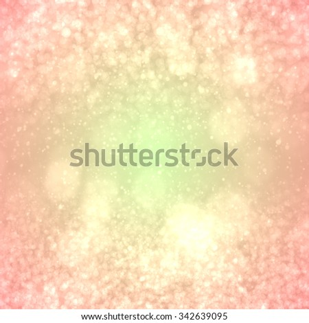 abstract background bokeh circles for Christmas background - stock photo