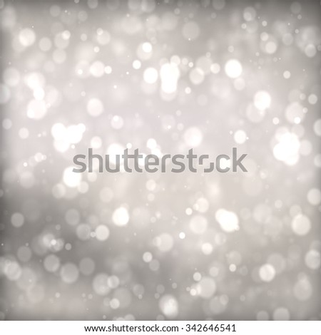 abstract background bokeh circles for Christmas background