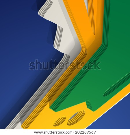 abstract background: Brasil