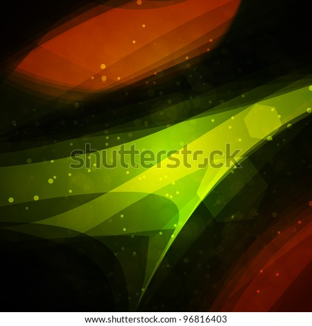 Abstract background, bright space, futuristic illustration - stock photo