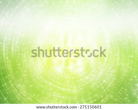 abstract background. brilliant green circles for background - stock photo