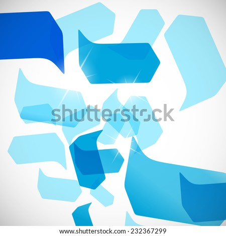 abstract background: bubble - stock photo