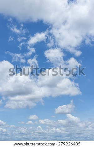 Abstract background cloud and sky blue  - stock photo