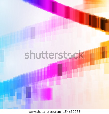 Abstract background, composition colorful elements.