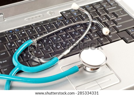 Abstract background. Computer technical service on PC - stock photo