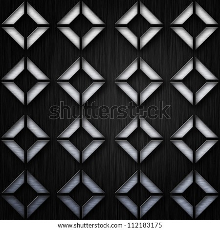 Abstract background, concept of metal plate - stock photo