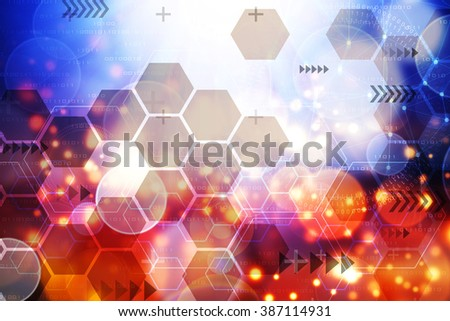 Abstract background, concept of technology.