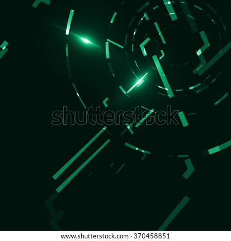 Abstract background, creative style illustration  - stock photo