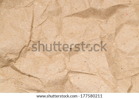abstract background. crumpled paper - stock photo