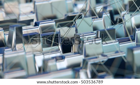 Abstract background 3d rendering