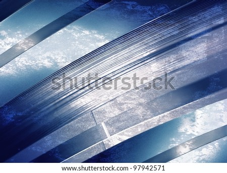 Abstract background, dark blue texture. - stock photo