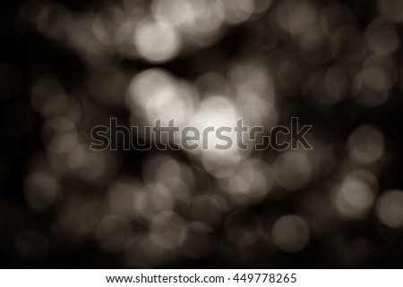 abstract background dark bokeh circles - stock photo