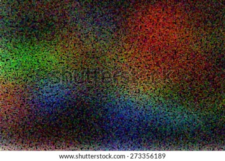 abstract background decorative graphic template to christmas or new year design with dotted pointillized style - stock photo