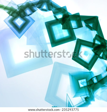 Abstract background, digital art illustration - stock photo