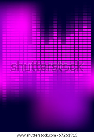 Abstract Background - Equalizer - stock photo